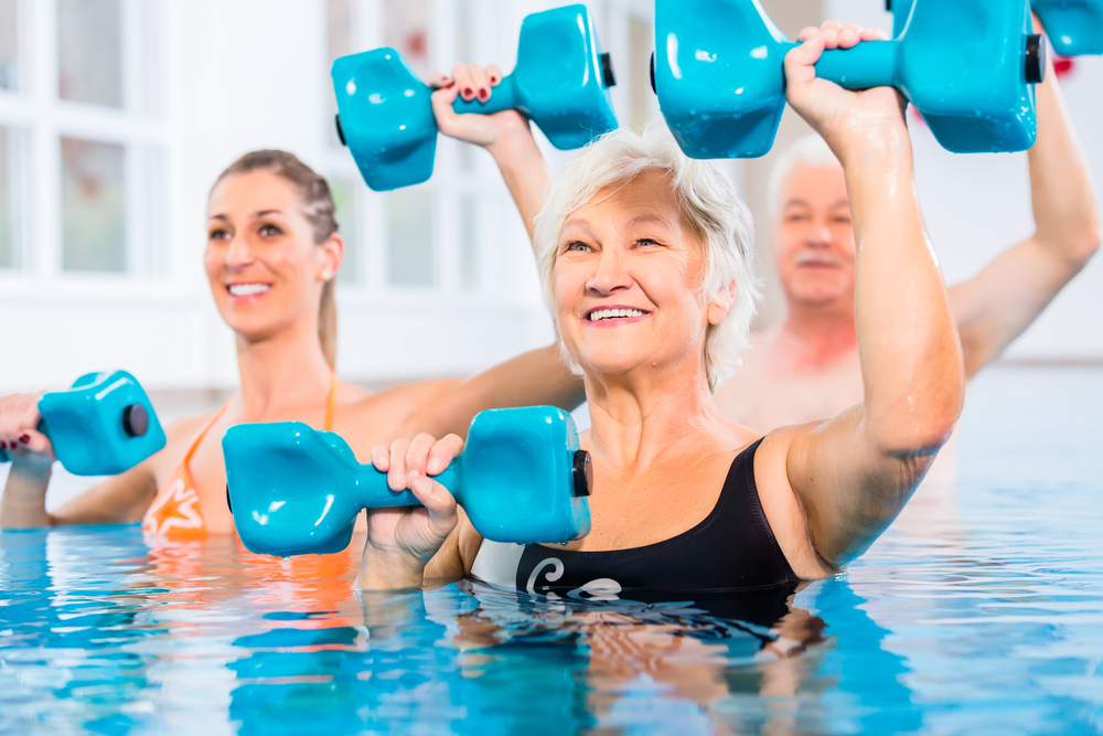 bassin-træning, senioerer, fysiterapeutisk